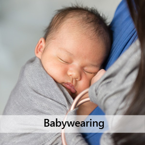 Newborn In A Ring Sling